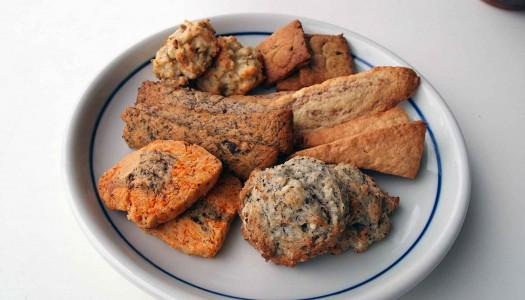 金曜日の朝は♪おつまみクッキー