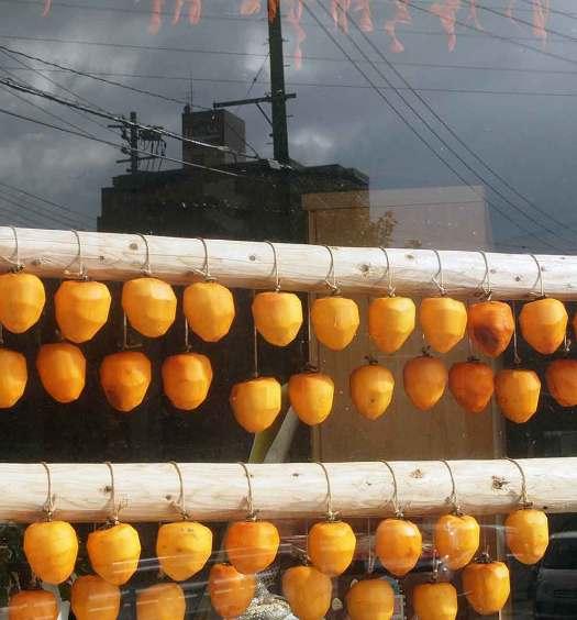 例年の干し柿作り