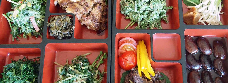 山菜&ジビエ弁当
